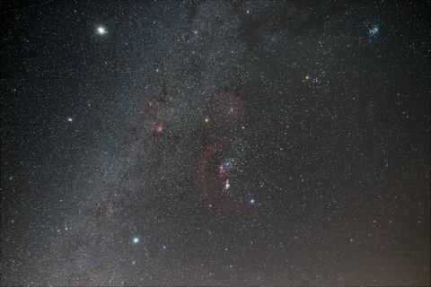 冬の星座たち