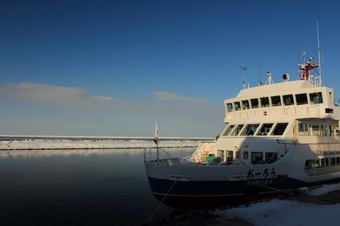 砕氷観光船オーロラ号