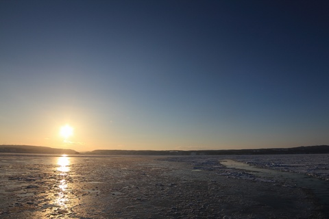 減ってきた流氷