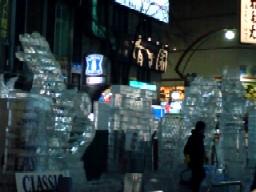 すすきの氷祭り1