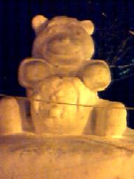 雪祭り前々夜くま