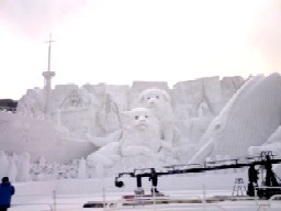 雪祭り前日3