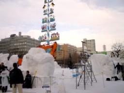 雪祭り前日7