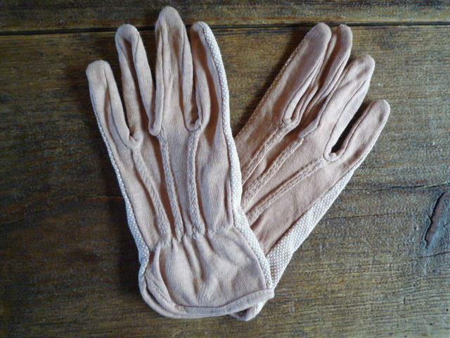 草木染手袋