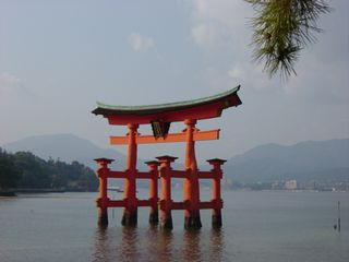 厳島神社初詣