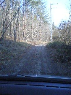 牧場への道