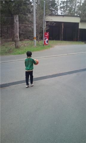 バスケ少年