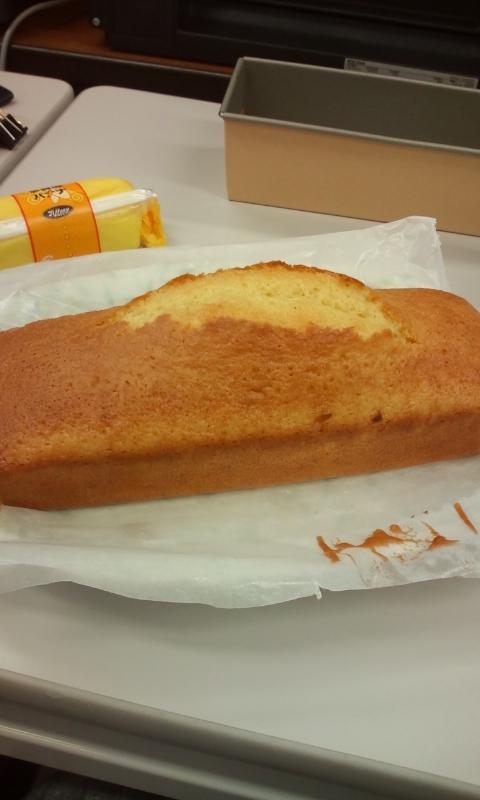 ふつうのパウンドケーキ
