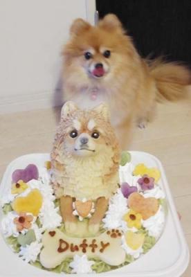 似顔絵ケーキ