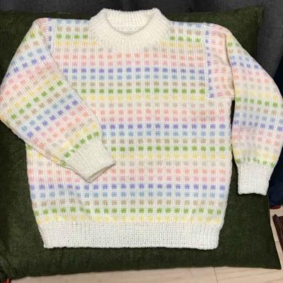 編み込みセーター女の子用