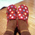 靴下二枚履き