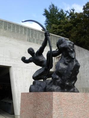 西洋美術館オブジェ2