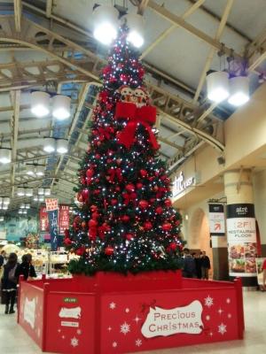 上野駅パンダツリー