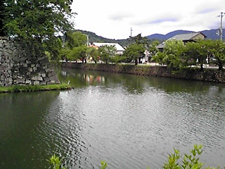 彦根城の外堀