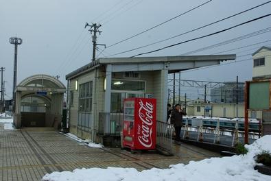 富山地方鉄道滑川駅