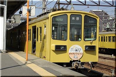 近江鉄道 ギャラリートレイン