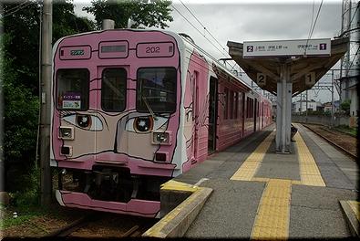 伊賀鉄道 忍者列車(ピンク)