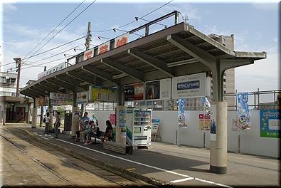 万葉線 高岡駅前