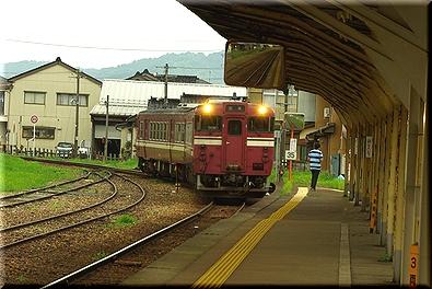 氷見駅 キハ40型