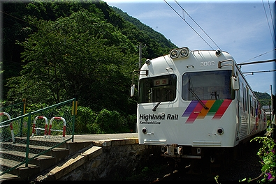 新島々駅 3000系