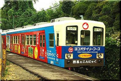 上信電鉄 ムーンラビット号