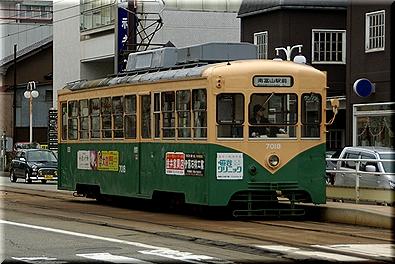 富山地方鉄道 デ7000型7018号