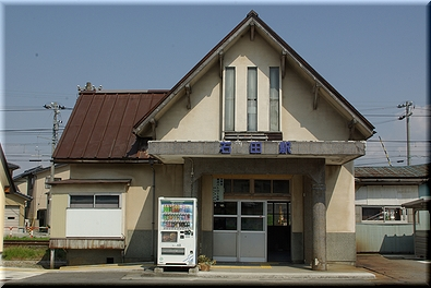 富山地方鉄道 電鉄石田駅