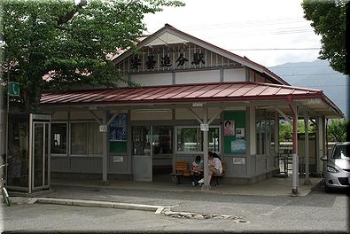 大糸線 安曇追分駅