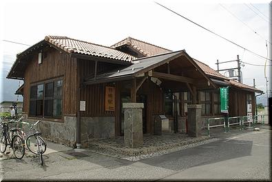 大糸線 有明駅