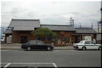 大糸線 穂高駅