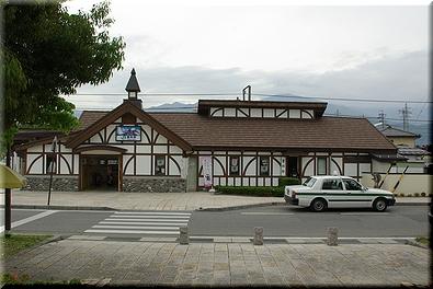 大糸線 豊科駅