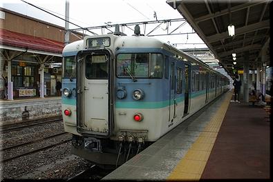 大糸線 115系