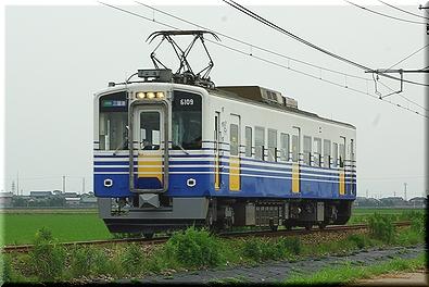 えちぜん鉄道 MC6109