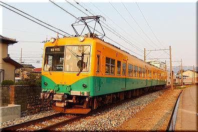 富山地方鉄道 カボチャ電車