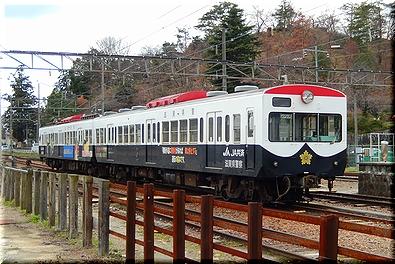 近江鉄道 パトカー電車