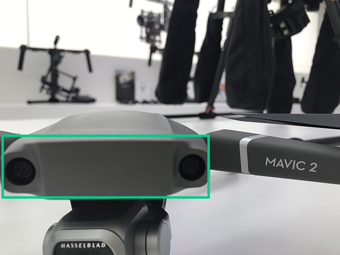 Mavic2Pro 前方ビジョンシステム