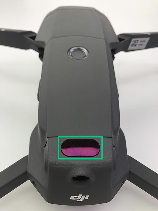 Mavic2Pro 上方赤外線検知システム