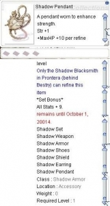 shadow pendant
