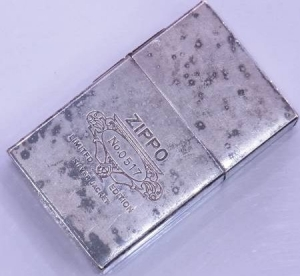 20150422 zippo spotted silver coat
