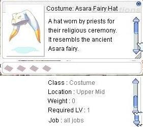 20150701 Costume Asara Fairy Hat