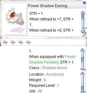 Power Shadow Earring 01