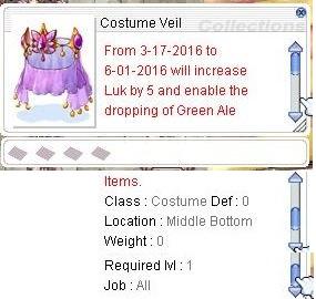 Costume Veil