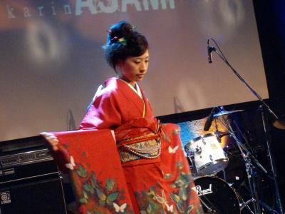 Vol.2 Live Kimono show by karin