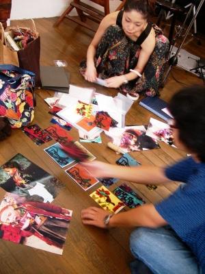 Vol.5 2008年9月20日 アートデイ ちめんかのや 当日準備風景