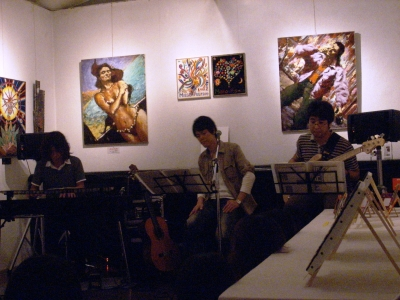 Vol.5 アートデイ【PLO】ライヴ2回目