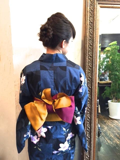 【夏祭り応援!!】浴衣着付け+ヘアーセット