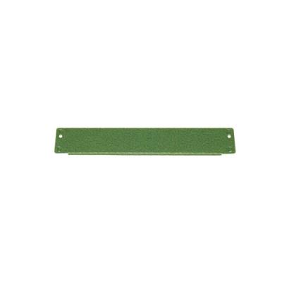 中量スチール棚側コボレ止め部材 グリーン色