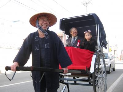 人力車(新渡戸館長)3