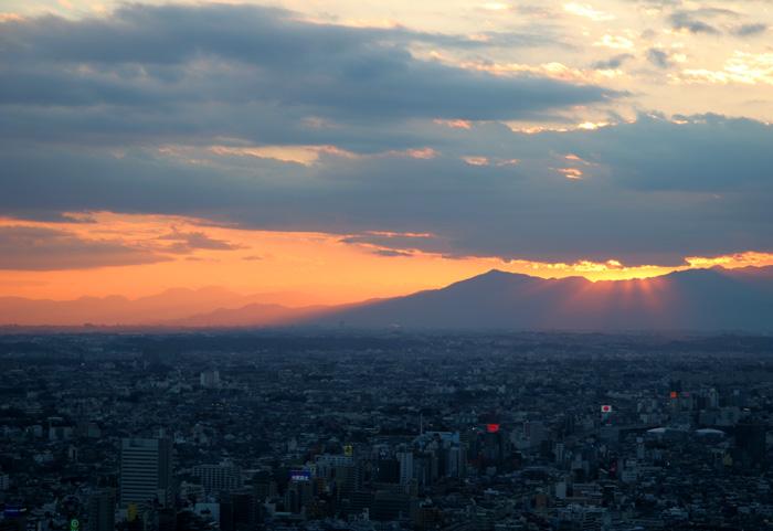 20061217夕暮れ@新宿