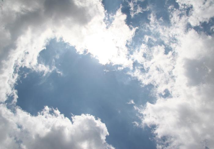 20070623梅雨の切れ間の空@清里